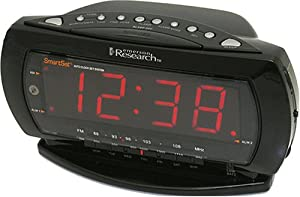 Emerson CKS2235B Jumbo Display Dual-Alarm Clock Radio with SmartSet Technology (Black) (Discontinued by Manufacturer)