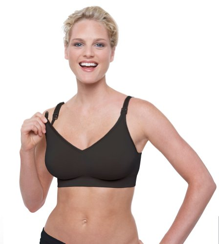Bravado Designs Body Silk Seamless Nursing Bra - Black - Small