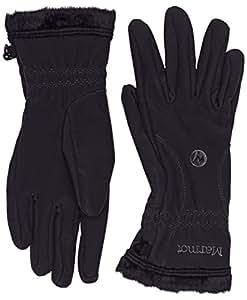 Marmot Women's Fuzzy Wuzzy Glove, Black, X-Small