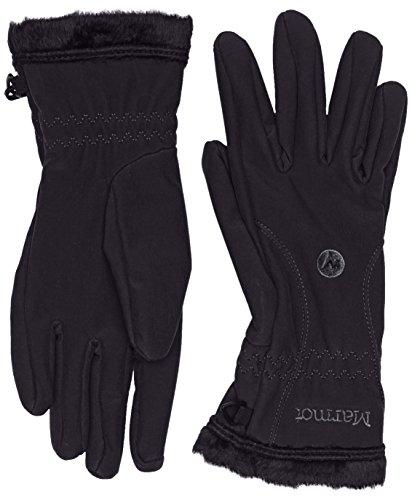 marmot-damen-handschuhe-fuzzy-wuzzy-black-s-18410-001