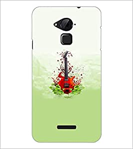 PrintDhaba Guitar D-5536 Back Case Cover for COOLPAD NOTE 3 LITE (Multi-Coloured)