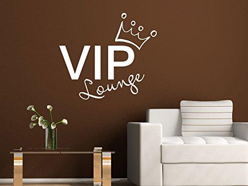 Graz Design 720450_57_030 Wandtattoo Wandaufkleber Wand Deko Schriftzug VIP Lounge Wohnzimmer