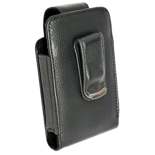 Samsung Black Vertical Pouch with Stylus Pen Loop for Samsung Restore SPH-M570 Seek SPH-M350 Code SCH-I220 Mythic