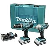 Makita G-Series Combi Drill and Impact Driver Twinpack - 18V