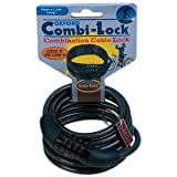 Oxford Combination Combi Lock 1.5m x 6mm, For Bike Bicycle The Little Bike Shop, Free P&P