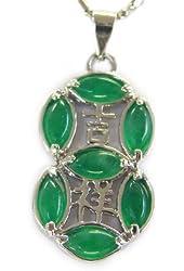 Jade 8 Pendant