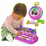 Delightful Cleva Pink Piano and ABC Shape Sorter Set - Cleva Edition ChildSAFE Door Stopz Bundle