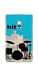 Casenation Hit The Beat OnePlus Two Glossy Case