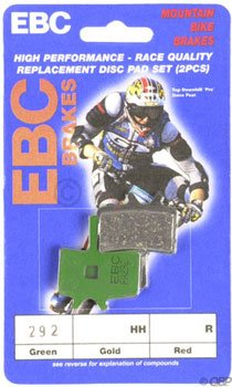 Buy Low Price EBC Disk Brake Pads for Avid Mechanical-Green (CFA394)