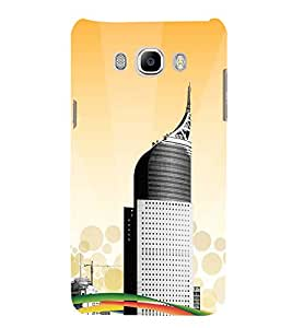 99Sublimation Tall Building 3D Hard Polycarbonate Back Case Cover for Samsung Galaxy J7 2016 (Duos, 10F, 10FN, 10M, 10H)