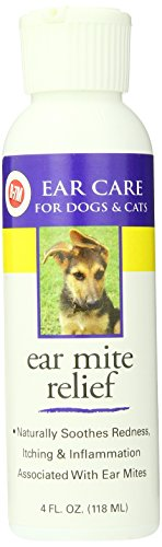 Miracle Care Ear Mite Relief Resealable Bottle, 4-Ounce