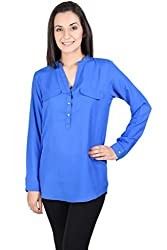 Whistle Full Sleeves Solid Women's Top