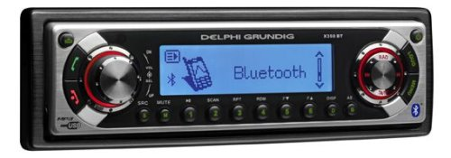 Delphi Grundig X350 BT Autoradio mit CD/MP3/WMA