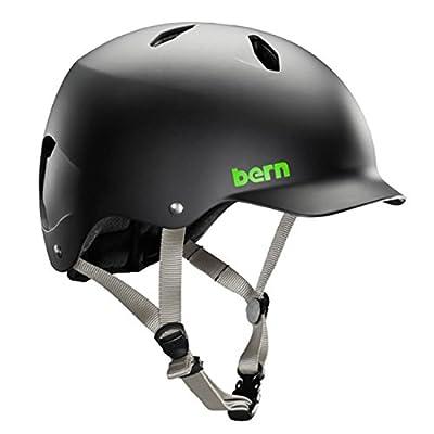 Bern Boys' Bandita Thin Shell Eps Helmet-Matte Black, Small/Medium/51-54 cm by Bern