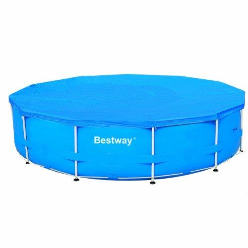 Bestway 58037 abdeckplane f r 366 cm pools kinderpools for Bestway pool folie