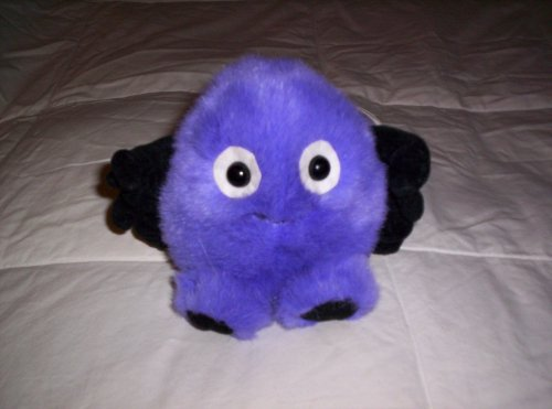 "Puffkins Spider ""Spinner"" Plush - 1"