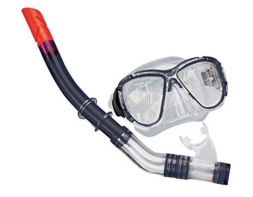 Taucher Set ,Tauchset Schnorchelset Taucherbrille und Schnorchel für Jugendliche Erwachsene