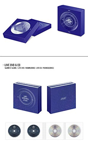 Advance Live (2DVD + 2CD + フォトブック + フォトカード) (韓国版) Infinite Woollim Entertainment (Korea)