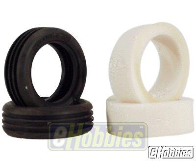 FR Xtra-Wide Tires w/FoamSV:XXX LOSA7204S