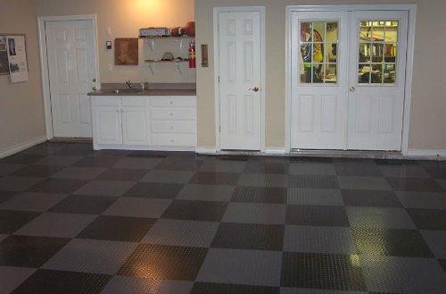 Incstores Peel And Stick Tiles 24x24 Diamond Pattern Slate