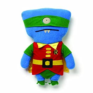 Uglydoll DC Comics from Gund Wedgehead as Robin 11 inches