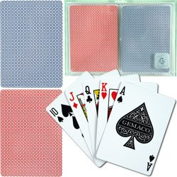 Gemaco Weave 100% Plastic Playing Cards - 2 Decks