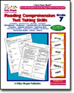 CARSON DELLOSA CD-3739 READING COMPREHENSION TEST TAKING 7-KELLY WINGATE - Buy CARSON DELLOSA CD-3739 READING COMPREHENSION TEST TAKING 7-KELLY WINGATE - Purchase CARSON DELLOSA CD-3739 READING COMPREHENSION TEST TAKING 7-KELLY WINGATE (Carson Dellosa, Toys & Games,Categories,Learning & Education)
