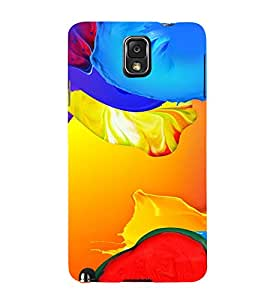 PrintVisa Modern Art Pattern 3D Hard Polycarbonate Designer Back Case Cover for Samsung Galaxy Note 3