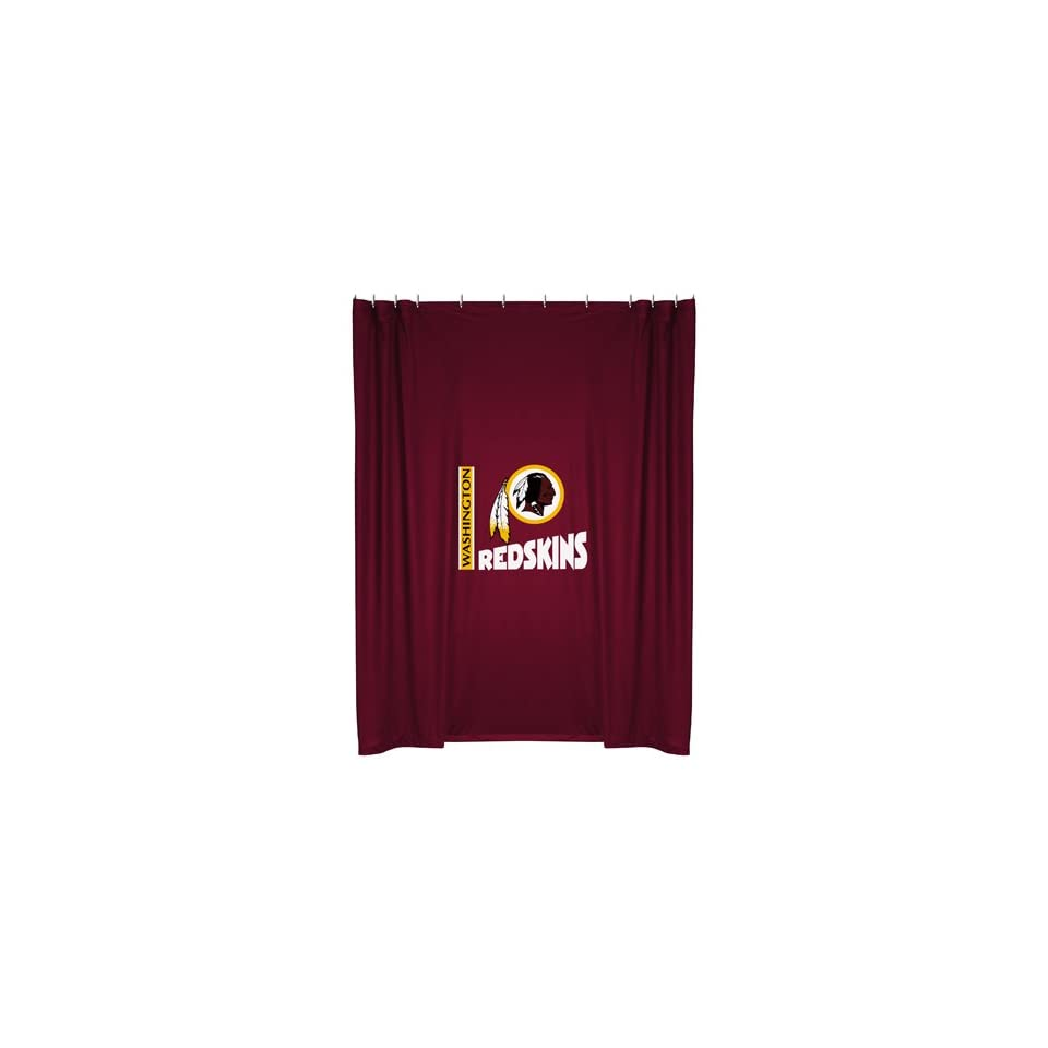 Washington Redskins Shower Curtain On PopScreen