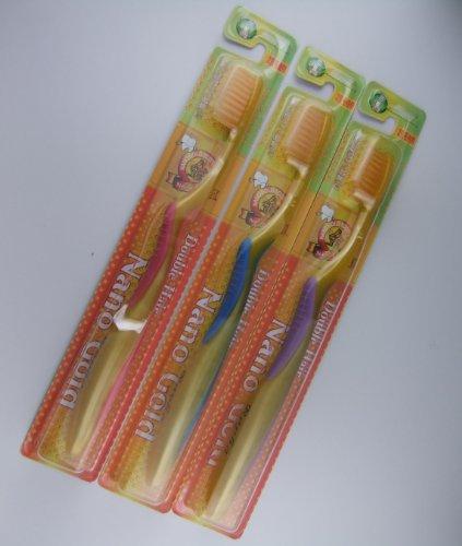 金歯ブラシ 3本セット