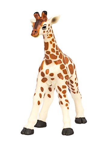 Safari Ltd Wild Safari Wildlife - Giraffe Baby - Realistic Hand Painted Toy Figurine Model - Quality Construction from Safe and BPA Free Materials - For Ages 3 and Up - 1