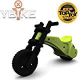 YBIKE Original Balance Bike In Green - Recommended Age 2 - 4 Years
