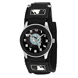 Game Time Mid-Size MLB-ROB-FLA Rookie Florida Marlins Rookie Black Series Watch by Game Time
