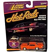 Johnny Lightning Hot Rods Collector No. 26 Goin Goat Pontiac GTO 1:64 Scale Die Cast Model