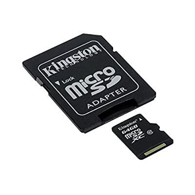 Professional Kingston Ultra 64GB MicroSDXC for your LG Viewty Smile card is Custom Formatted for digital high speed, lossless recording! Includes Standard SD Adapter. (UHS-1 Class 10 Certified 30MB+/sec) deal 2015