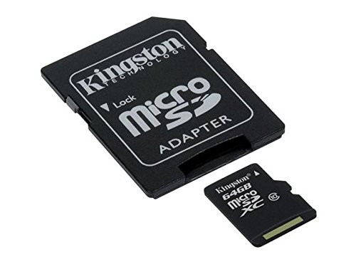 Professional Kingston Ultra 64Gb Microsdxc For Your Lg Optimus L4 Ii Card Is Custom Formatted For Digital High Speed, Lossless Recording! Includes Standard Sd Adapter. (Uhs-1 Class 10 Certified 30Mb+/Sec)