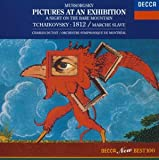 チャイコフスキー : 大序曲(1812年)作品49、スラヴ行進曲 作品31、ムソルグスキー : 交響詩(はげ山の一夜)、組曲(展覧会の絵)ラヴェル編