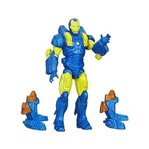 """Marvel Avengers Assemble 4"""" Voltstrike Iron Man"""