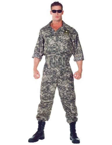 Us Army Adult Jumpsuit Xxl Adult Mens Costume