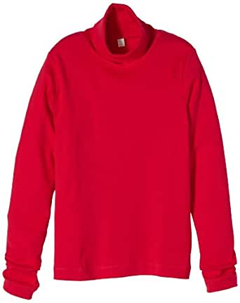 ESPRIT Sweatshirt  Col roulé Manches longues Fille - Rouge - Rot (626 TANGO RED) - FR : 10 ans (Taille fabricant : 140/146)