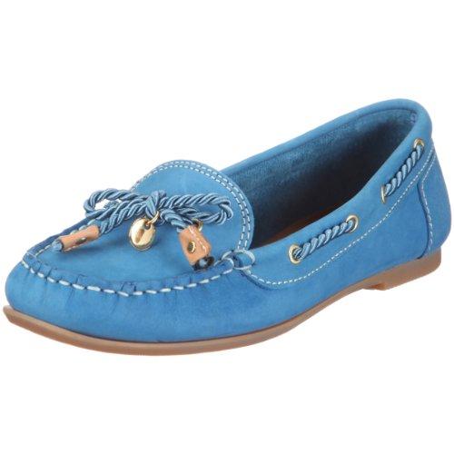 Tommy Hilfiger Women's Missy 3 A Boat Shoe Blue FW8BS02249 4 UK