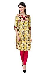 Kurti Collection pure cotton digitally printed traditional motif ethnic kurti fabric material (Unstitched)