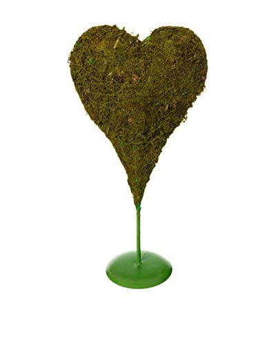 Elemento Decorativo Heart Verde