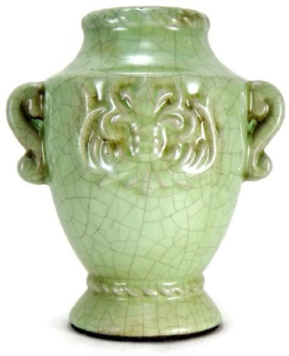Casa di Francesca Collezione Privata Green Terracotta Decanter Decorative Urn (Decorative Ceramic Urns compare prices)