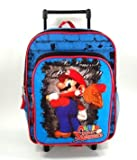 Nintendo Super Mario Rolling Backpack Kid Size - Super Sluggers...
