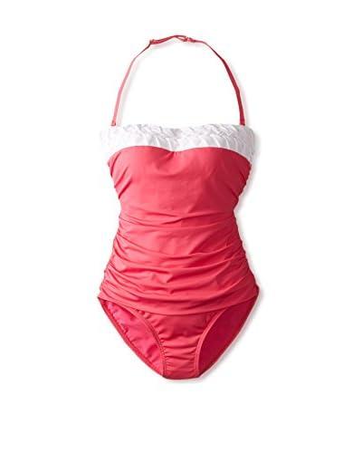 Jantzen Women's Convertible Bandeau One-Piece Swimsuit