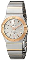 Omega Women's 123.20.27.60.02.001 Constellation Stainless Steel and 18k Gold Dress Watch by Omega