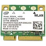 Intel WiFi Link 5300 (533ANHMW)450Mbps 802.11a/b/g/n 無線LANカード