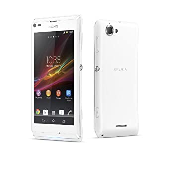 Sony Xperia L SIM-Free Smartphone - White (Android) (discontinued by manufacturer)