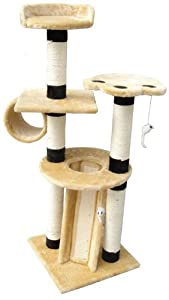 "EliteField Cat Tree EFCT-3051, 18""L x 18""W x 51""H"